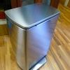 Stainless steel kitchen trash can reviews