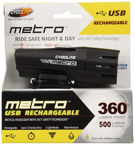 Bike Headlight Cygolite Metro 360