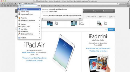 1password 4 for mac