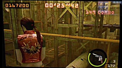 Resident Evil The Mercenaries 3D Screenshot